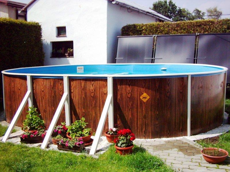 виды каркасных бассейнов фото